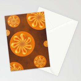 Retro Blossoms Stationery Cards