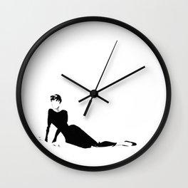 Audrey | Fashion Illustration Wall Clock