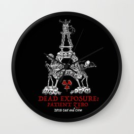 Dead Exposure: Patient Zero (Eiffel Tower) Wall Clock