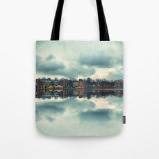 Stockholm upside-down Tote Bag