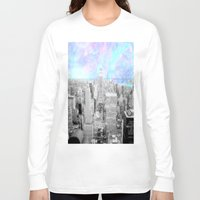 new york city Long Sleeve T-shirts featuring New York City. by 2sweet4words Designs