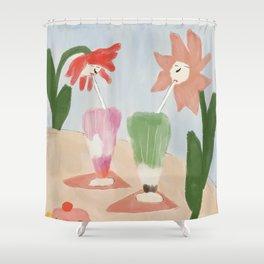 Sundae Funday Shower Curtain