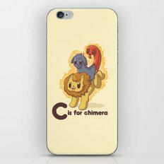 C is for Chimera iPhone & iPod Skin