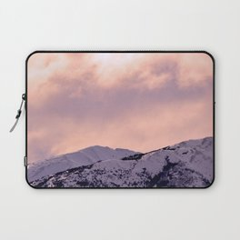 Kenai Mts Bathed in Serenity Rose Laptop Sleeve