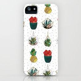 Festive Succulents iPhone Case