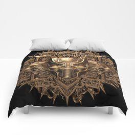 Black Panther / Gold. Comforters