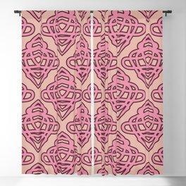 geometric seamless pattern Blackout Curtain