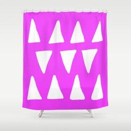 Fuchsia Frolic Shower Curtain