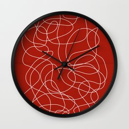 Headphone Maze Wall Clock