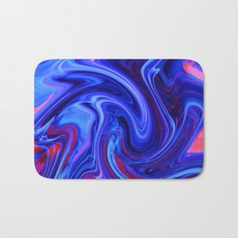 Raging Blue Waters Bath Mat