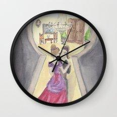 Keyhole Wall Clock
