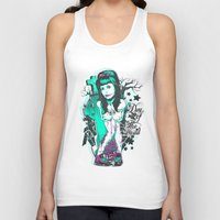 day of the dead Tank Tops featuring Day of the dead by Tshirt-Factory
