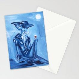 Don Quixote and his wine (Don Quijote y su vinito)  Stationery Cards