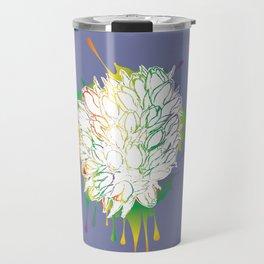 Grunge bouquet of tulips Travel Mug