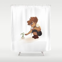 Newt and Pickett Shower Curtain