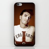 the smiths iPhone & iPod Skins featuring The Smiths singer by Studio Caro △