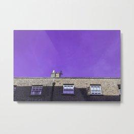 Dublin - Violet Metal Print