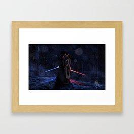 A Balance Framed Art Print