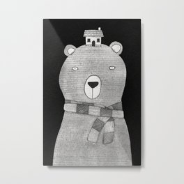 A great big bear Metal Print