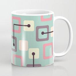 Vintage 1950s Tiles & Squares (Spring) Coffee Mug