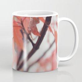Maple Leaves After Rain Coffee Mug