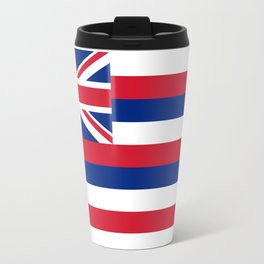 State flag of Hawaii - Authentic version Travel Mug
