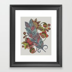 One little feather Framed Art Print