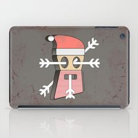 merry christmas iPad Cases featuring Merry christmas by AmDuf