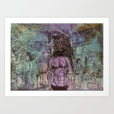 What went down in chinatown II Art Print