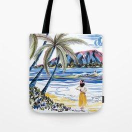 Hawaiian Holiday Tote Bag