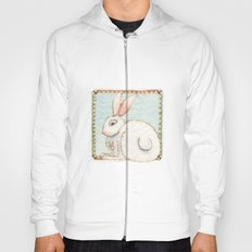 Snowy Rabbit Hoody