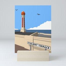 Cliftonville Lido, Margate Mini Art Print