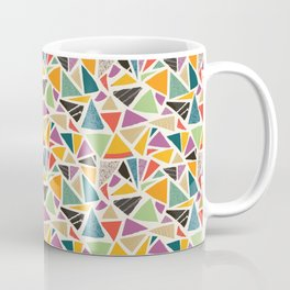Triangle Treat Mosaic Coffee Mug