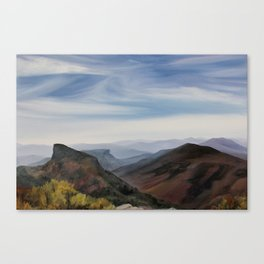 Hawksbill Mountain Canvas Print