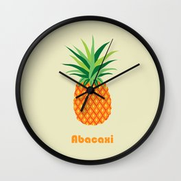 AFE Pineapple Wall Clock