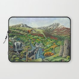Prelude To Powys Laptop Sleeve