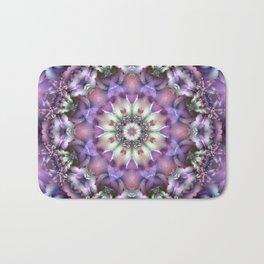 Lilac Mandala Bath Mat