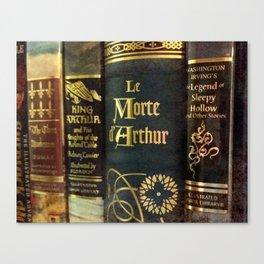 Adventure Library Canvas Print