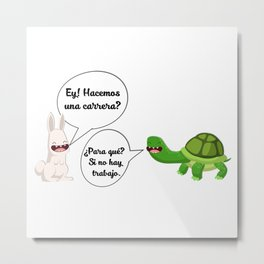 graphic humor 1 Metal Print