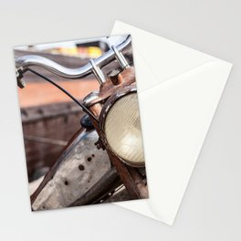 Moped boat Stationery Cards
