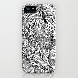 Mouth Drip iPhone Case