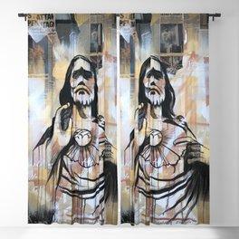 Revelation 21:4 Blackout Curtain