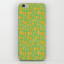 Triangles Pattern iPhone Skin
