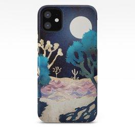 Desert Lake Moonlight iPhone Case