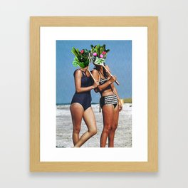If we took a holiday Framed Art Print