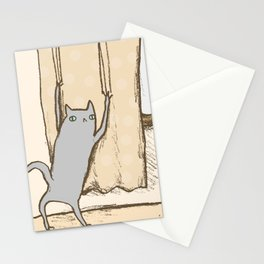 Cat Approval Stationery Cards