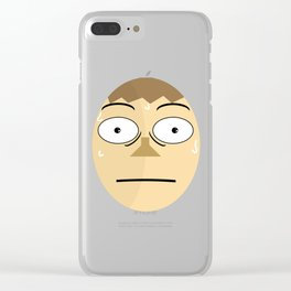 JakeomonkaS Clear iPhone Case