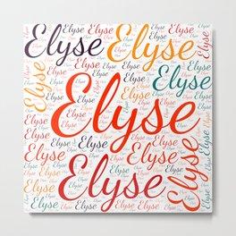 Elyse Metal Print