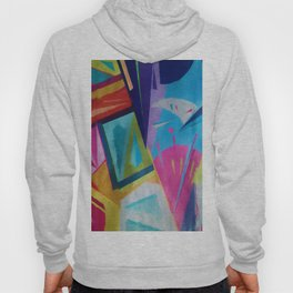 Abstract Composition 609 Hoody
