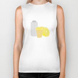 Salt, lemon and tequila Biker Tank